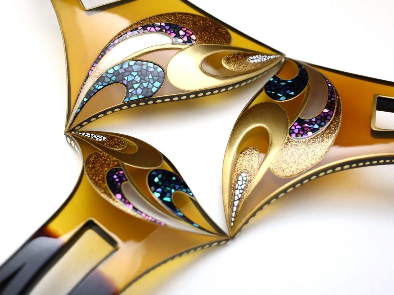 結婚披露宴、パーティーなど華やかな機会にお勧めな美しいべっ甲螺鈿金蒔絵かんざし・3種|黒革の手帖2017使用簪