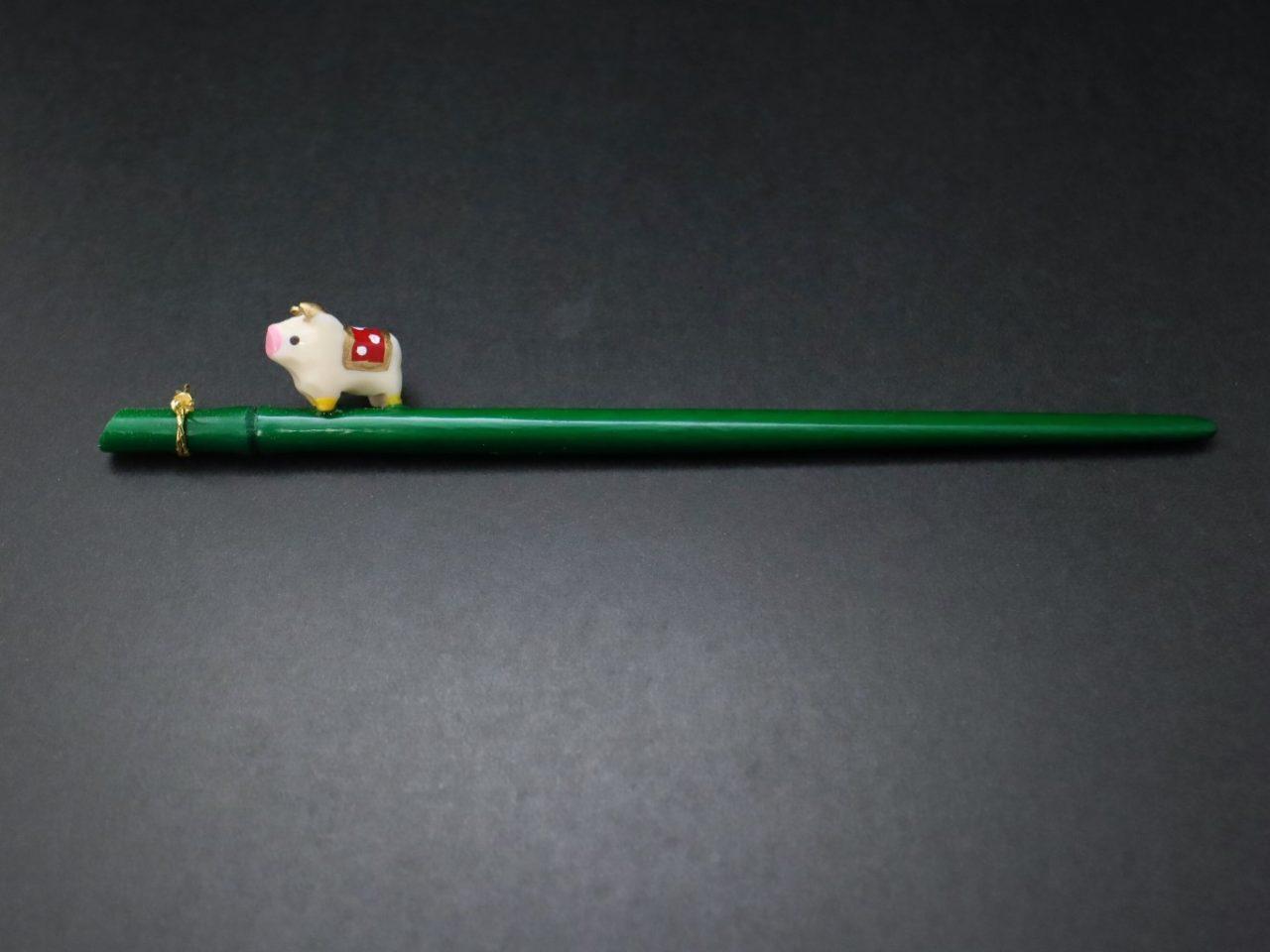 干支かんざし2021|福徳繁栄干支かんざし・福丑・全20|江戸時代から続く縁起物の簪
