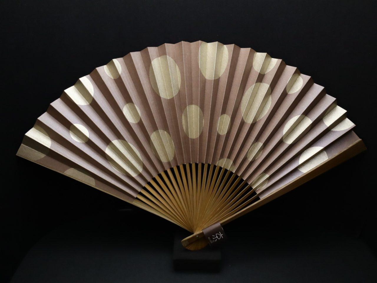 漆喰扇子|紳士用・婦人用2021|抗ウイルス・抗菌・消臭機能付地紙使用の京扇子。