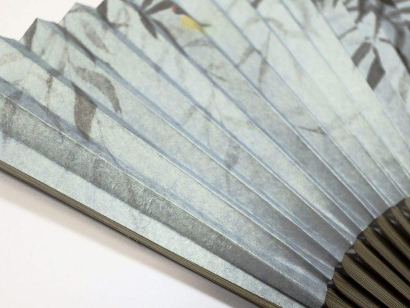 紳士用扇子2020・4種|雲竜紙|京扇子。