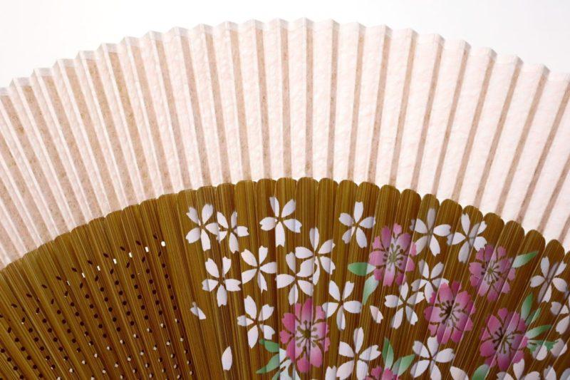 婦人用60間絹張扇子セット2019