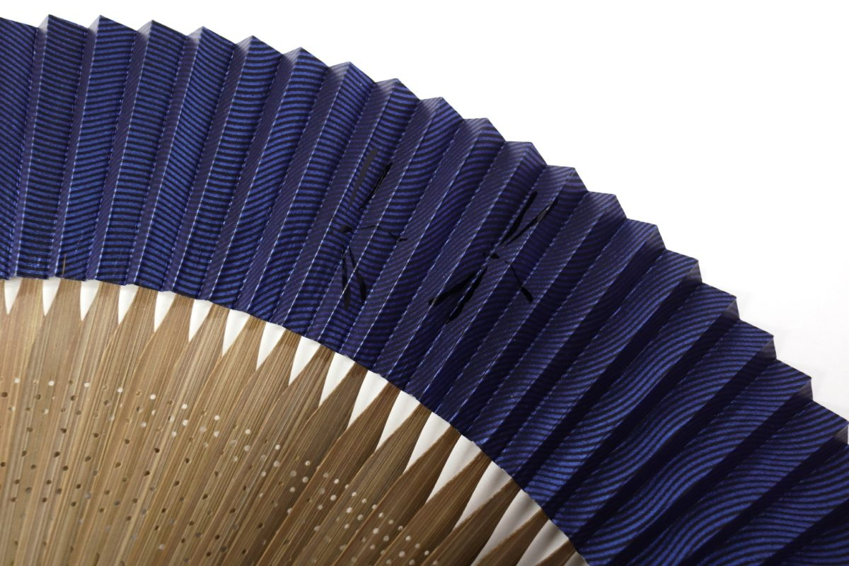 紳士用扇子2021・3種 シックで落ち着いた雰囲気の京扇子、短地扇子、市松瓢箪、勝ち虫、笹