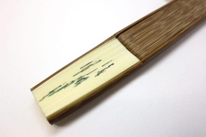 紳士用扇子2020・6種|手描き、短地、京扇子