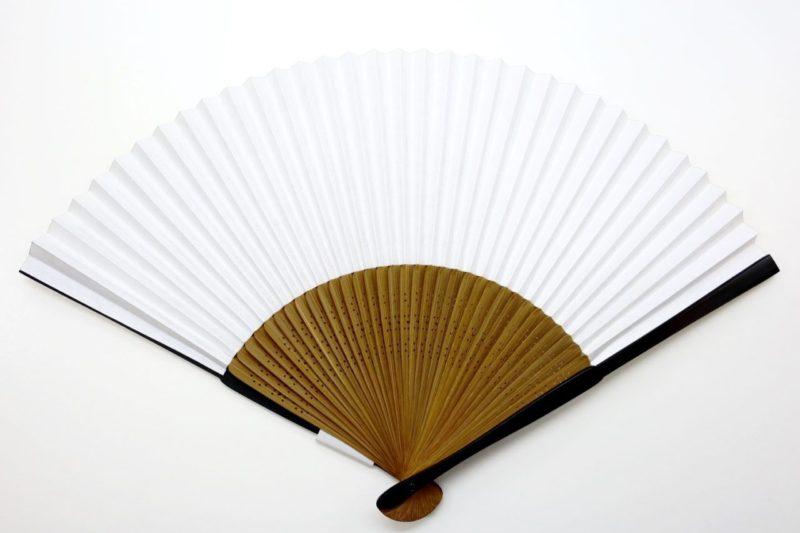紳士用扇子 京扇子 蜻蛉 竹