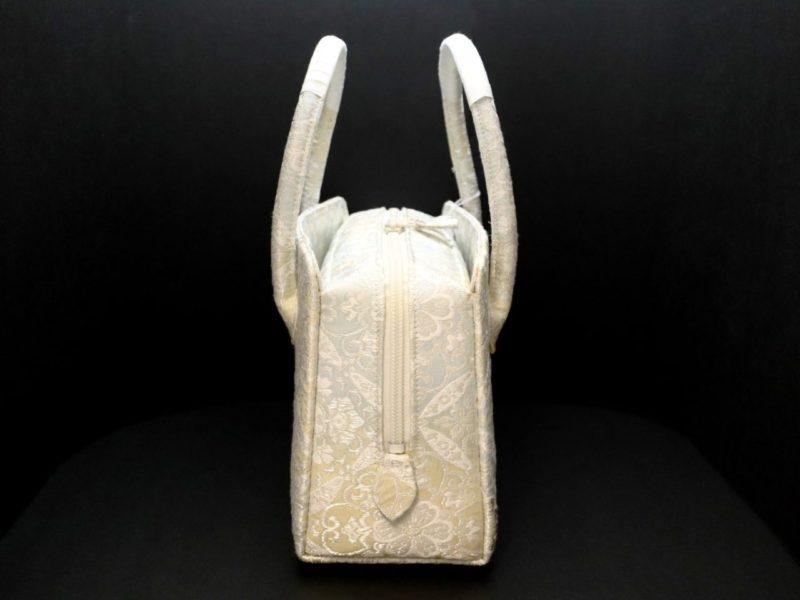 花菱華文の利休バッグ2020・2種|花菱華文八寸/皇帝貝紫華文九寸