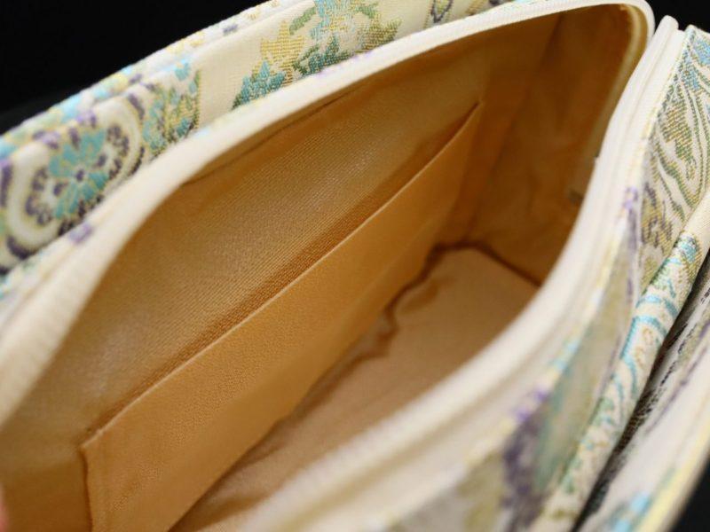 準礼装用和装バッグ2019・4種|利休バッグ八寸/九寸|天井文様の正絹帯地使用のオリジナルバッグ