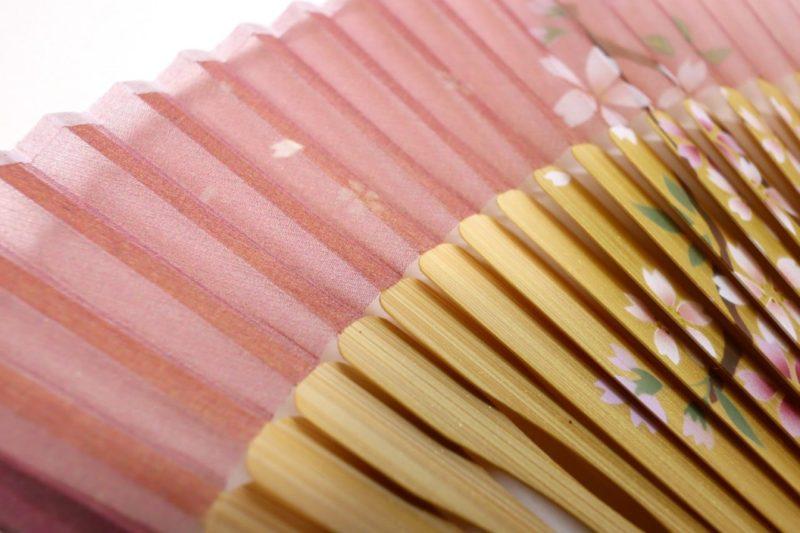 扇子セット2020・3種|婦人用絹張7寸