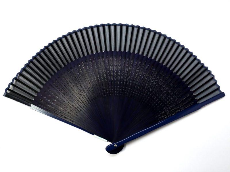 紳士用扇子2020・3種|扇面に絹を用いた涼しげな短地扇子
