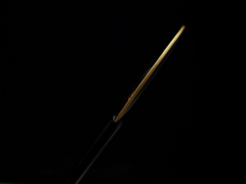 夏の風物詩、蛍と団扇の涼しげなべっ甲蛍螺鈿金蒔絵団扇かんざし2020