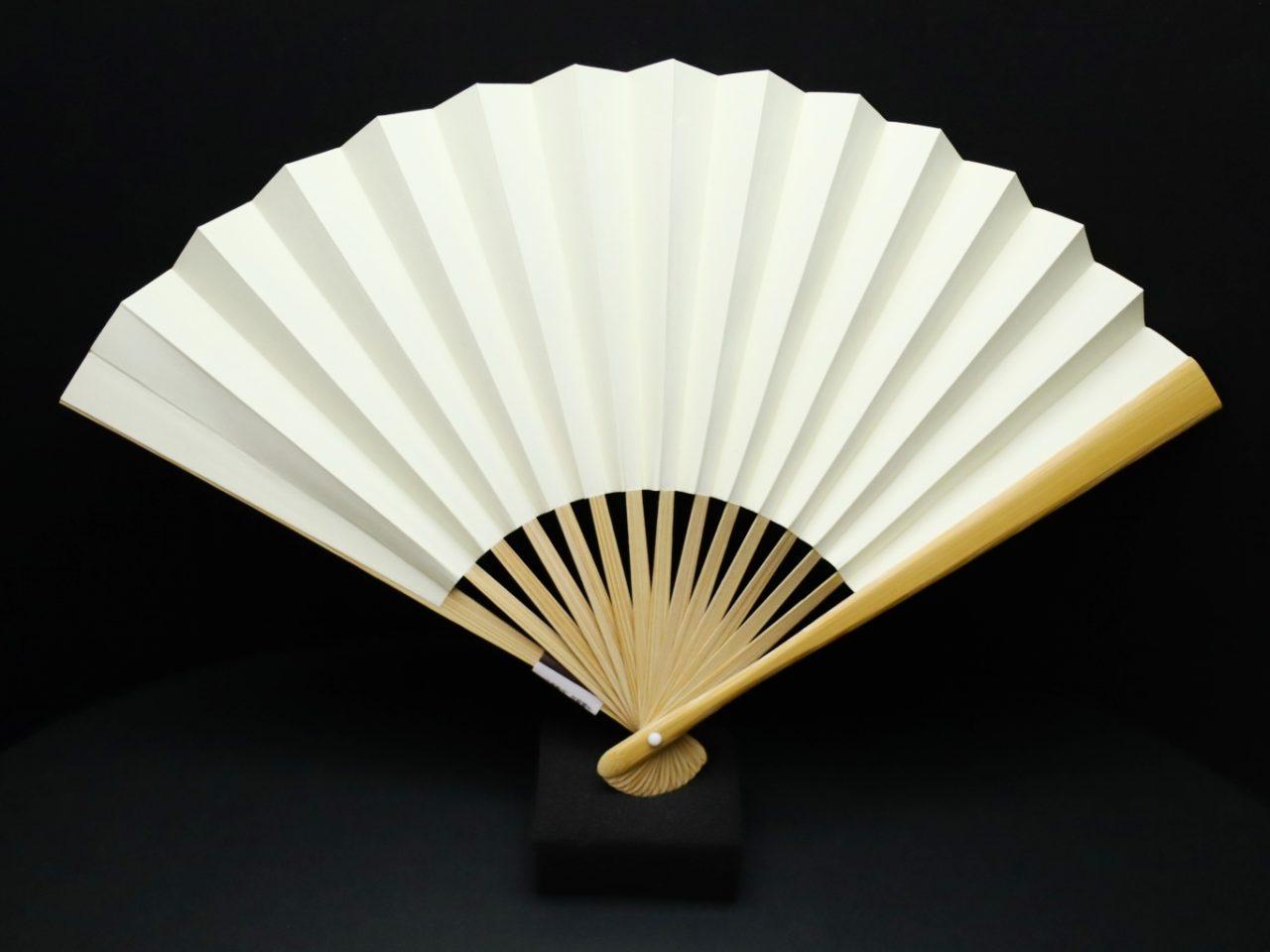 漆喰扇子 婦人用2021 抗ウイルス・抗菌・消臭機能付地紙使用の京扇子。