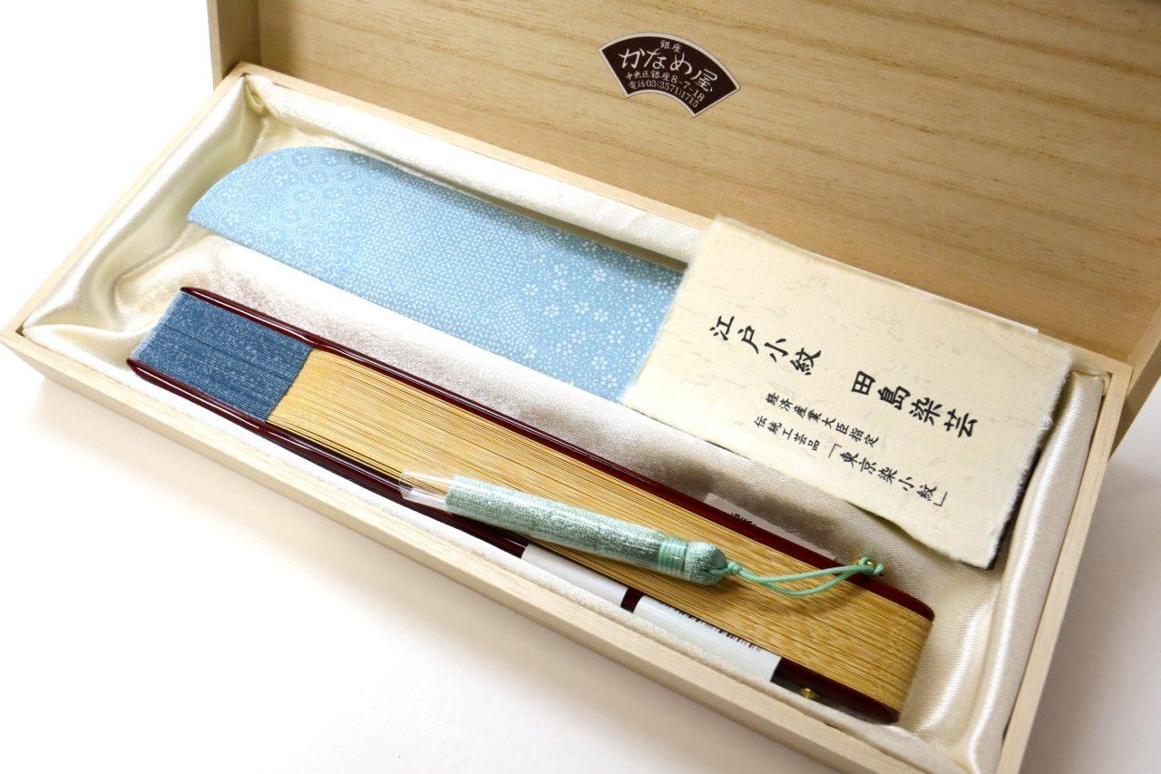 扇子セット2021・婦人用短地扇子5種|すっきりと涼しげな扇子。母の日ギフト、各種贈答品におすすめな扇子セット。