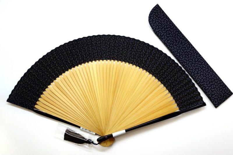 紳士用扇子セット 江戸小紋