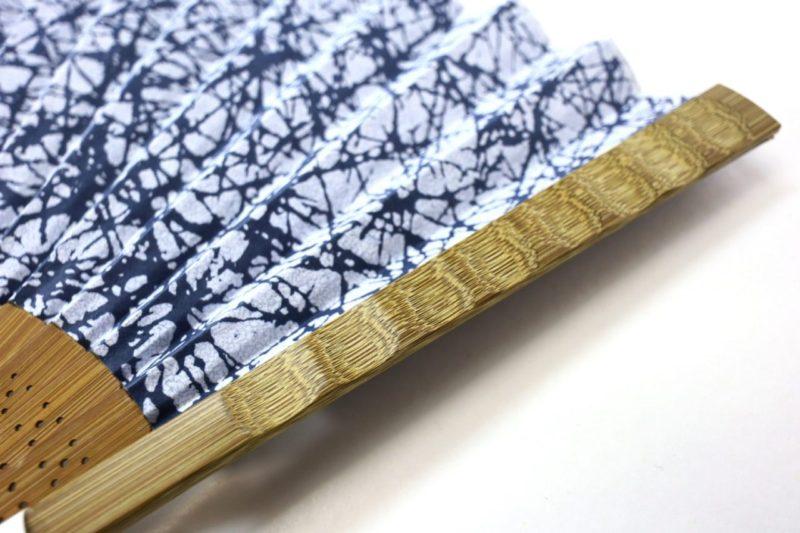 扇子セット2020・趣の異なる紳士用7種|東京染小紋、頑丈な漆喰染め、風が良く来る扇子