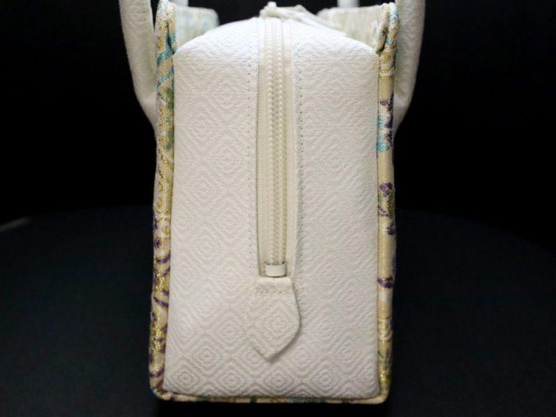 準礼装用和装バッグ2019・4種|利休バッグ八寸/九寸|天井文様の正絹帯地使用のオリジナルバッグ。